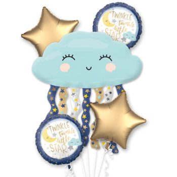 Twinkle Little Star Foil Balloons