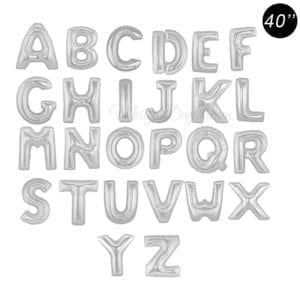 40inch letter foil balloons