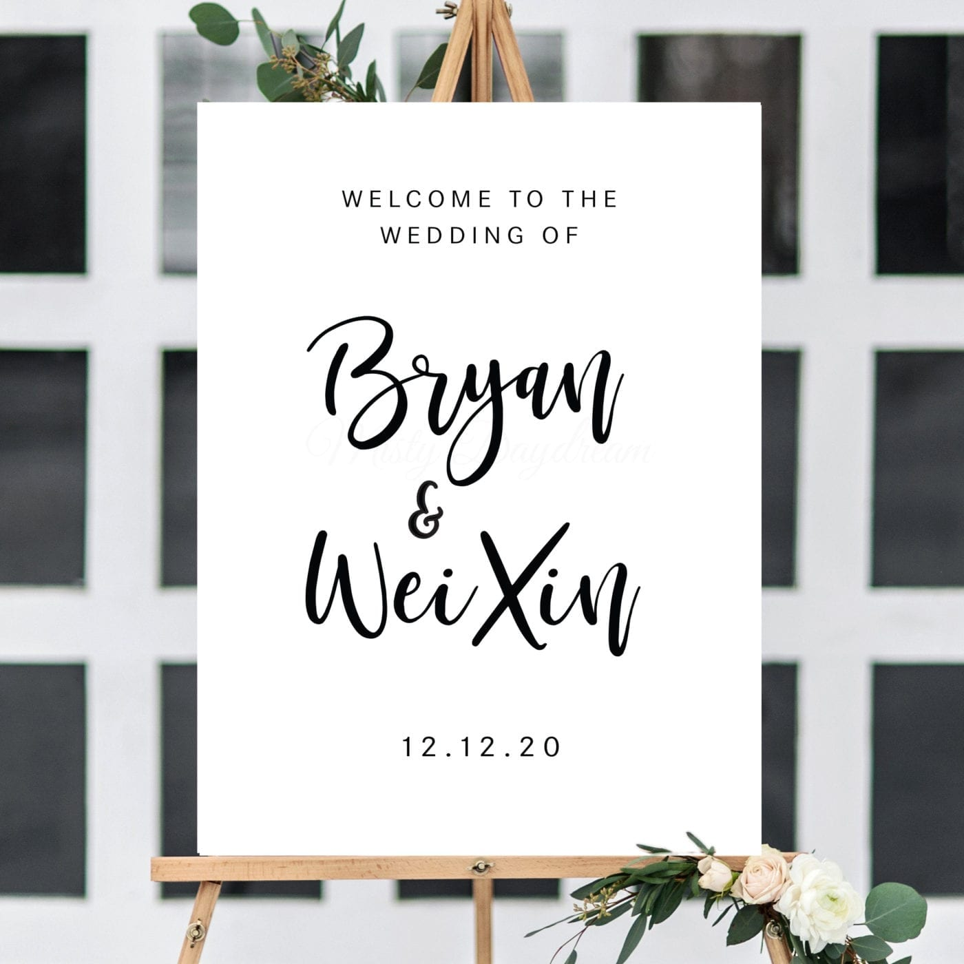Wedding Welcome Sign.Wedding Welcome Sign Design 10 Foam Board