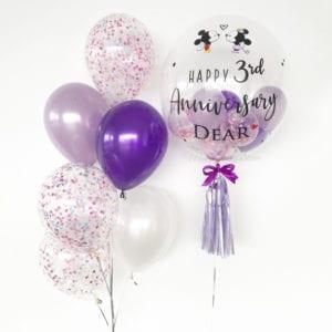 Mickey & Minnie customised balloons