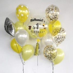 Jungle animal customised balloons