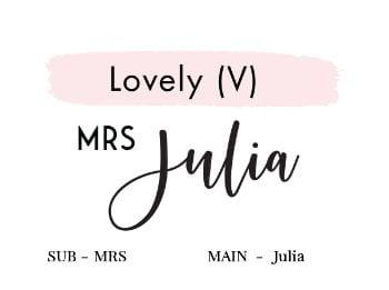 Lovely (V)