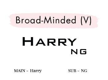 Broad-Minded (V)