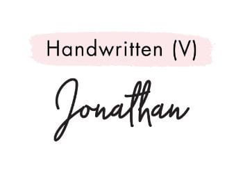 Handwritten (V)