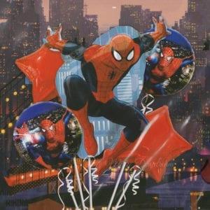 Spiderman foil balloons